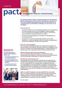 PACT voor goede zorg en ondersteuning